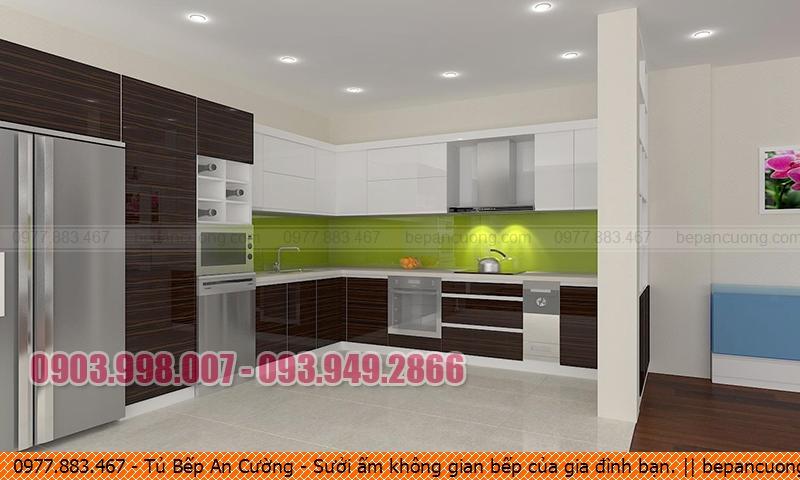 Tủ Bếp An Cường Giá Rẻ Tại TP.HCM - Sưởi ấm không gian bếp của gia đình bạn.
